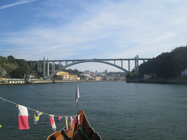 Arrábida Bridge Looking Back to Porto