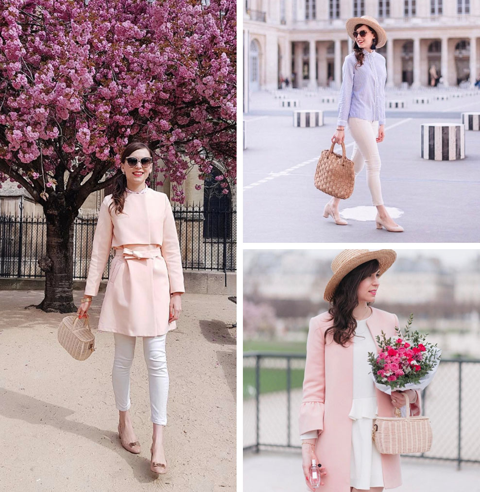 10 Romantic, Feminine Style Fashion Bloggers (Daphné - Mode and the City)