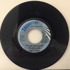 HOLAND-DOZIER FEATURING LAMOND DOZIER:WHY CAN'T WE BE LOVERS(RECORD SIDE-A)