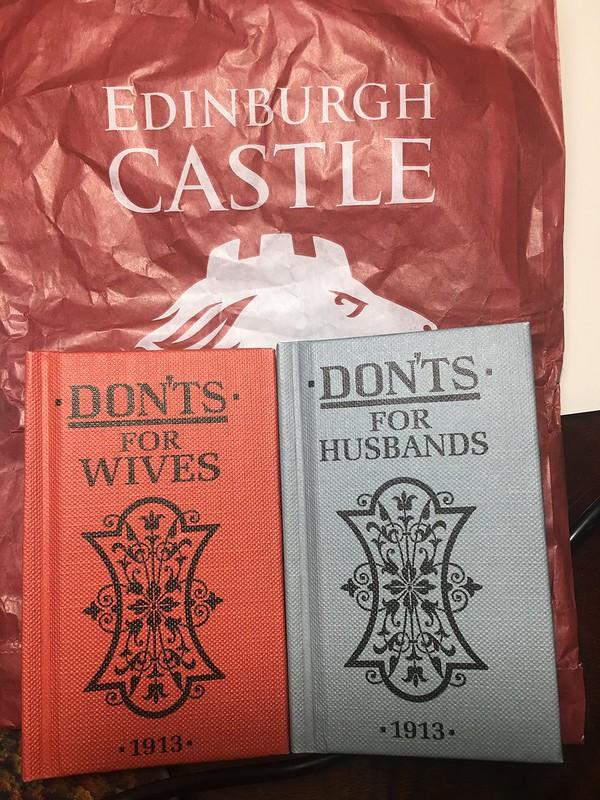 books from Edinburgh Castle