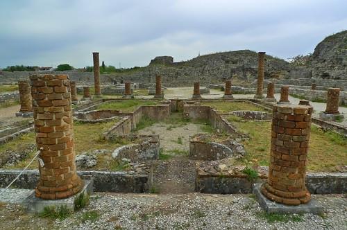 Conimbriga  Roman Ruins - near Coimbra, Portugalo