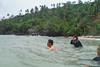 Sibale island - Sampong Gui-ob beach body surf