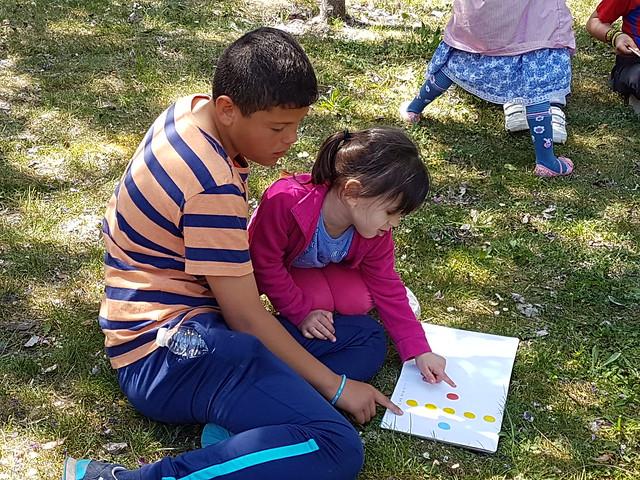 Apadrinamiento 6º-Infantil Día del libro