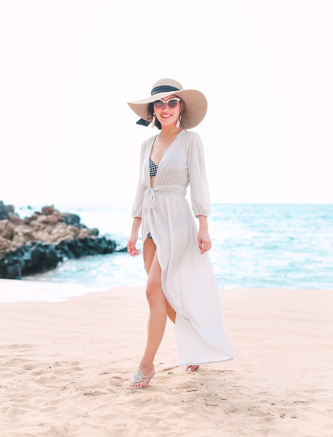 nordstrom duster long flowy beach coverup petite outfits