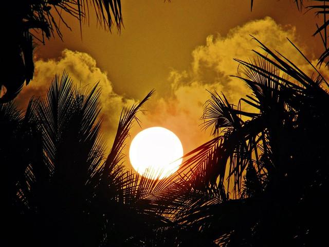Sunrise at 110 deg ESE