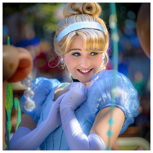 Cinderella At Disneyland Parade