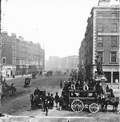 Horse-drawn Omnibus, Westmoreland Street, Dublin