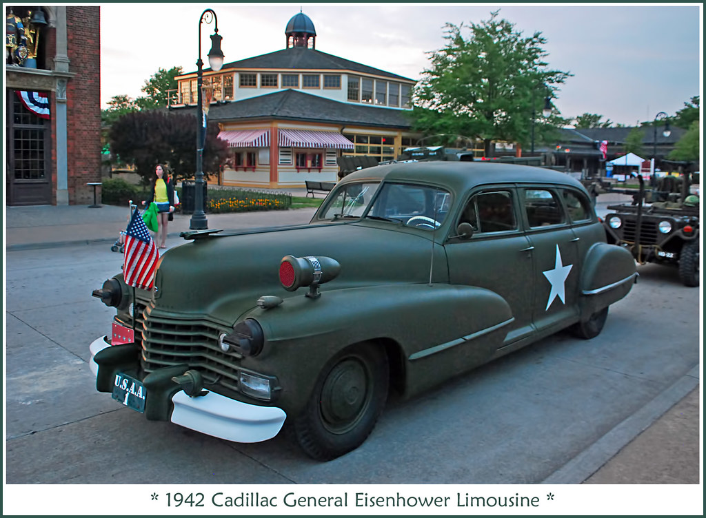 General Eisenhower S 1942 Cadillac Command Car The June