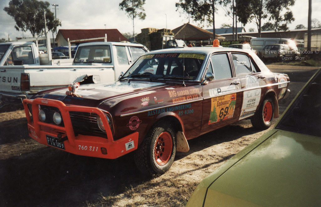 1967 Ford XR Falcon Variety Bush Rally Car   This was used i…   Flickr