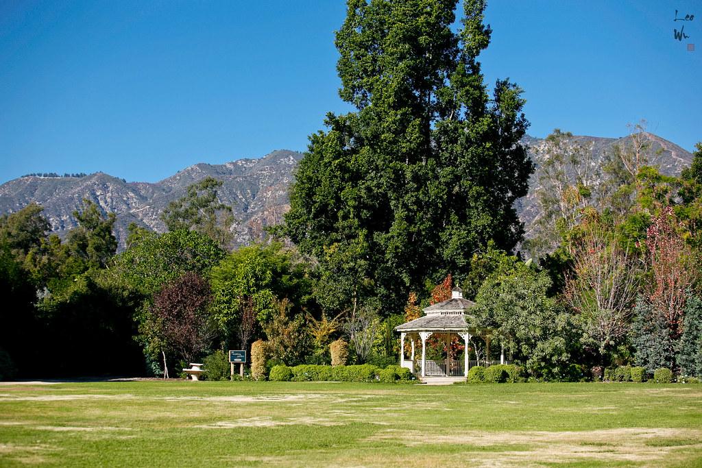 Arboretum Botanic Garden Occupying The Heart Of The