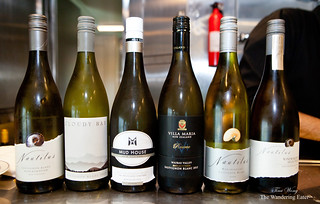 Wines tasted at Sauvignon Blanc seminar | by thewanderingeater