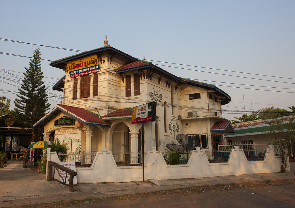 Old french colonial house savannakhet laos eric for Classic house french kiss