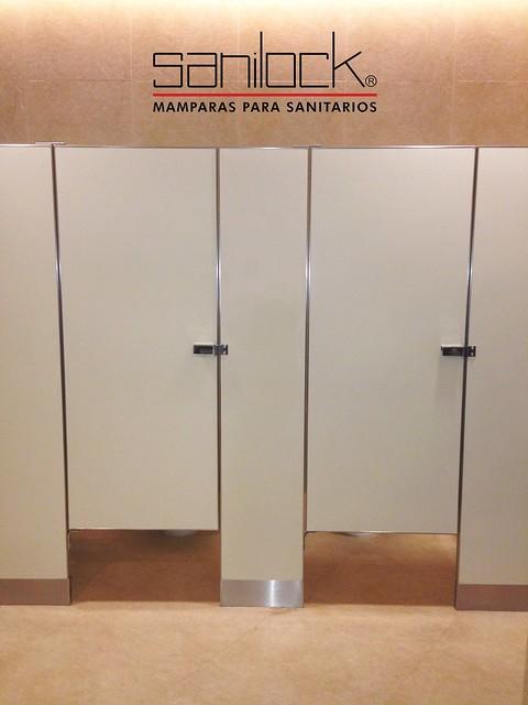 mamparas para sanitarios p blicos sanilock acabado ForMamparas Para Sanitarios