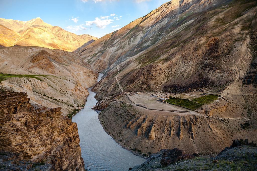 India Enroute Phuktal Monastery Zanskar Website