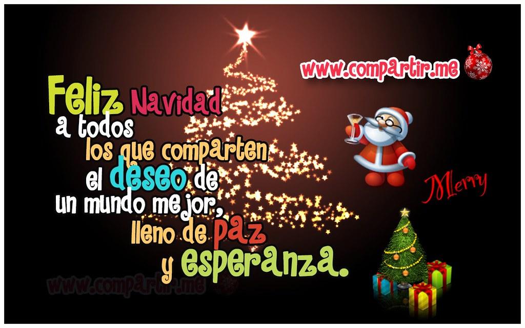 Frases De Amor Diseno De Tarjeta Especial Por Navidad Par Flickr