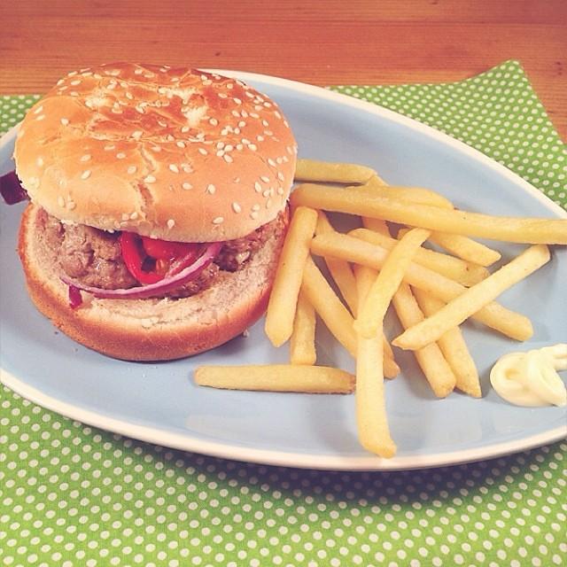 Cheeseburger Recette Ww Un Delice 90gr De Boeuf Hache Extr Flickr