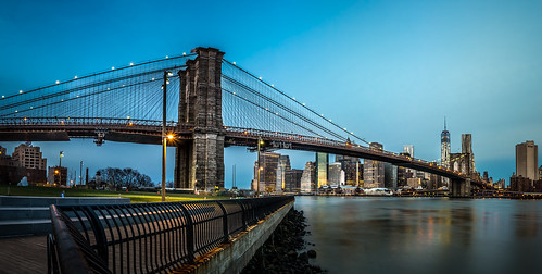 Brooklyn Bridge and Manhattan Skyline | by The Passion of Light captured by Patrick Schoerg
