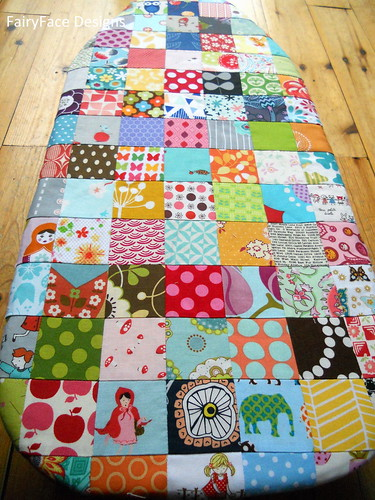 Scrappy Ironing Board cover 3 | by Sarah @ FairyFace Designs