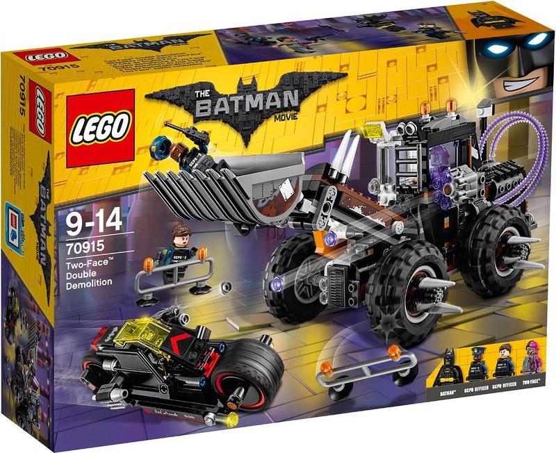 LEGO Batman Movie Two-Face Double Demolition (70915)