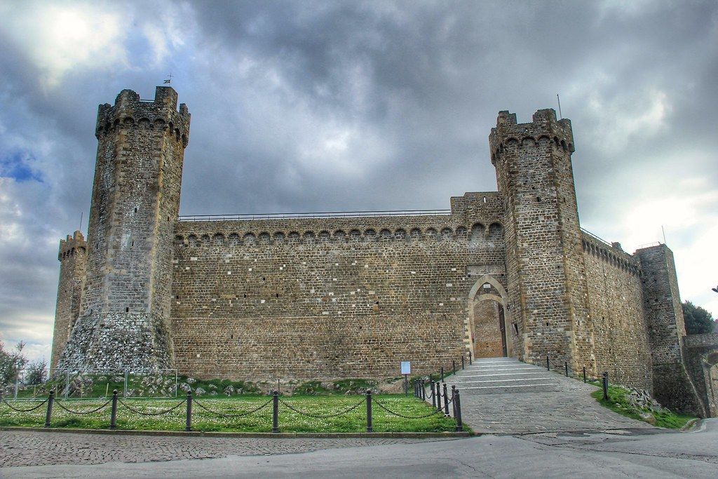 The fortress of Montalcino