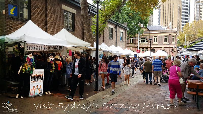 sydney the rock weekend market