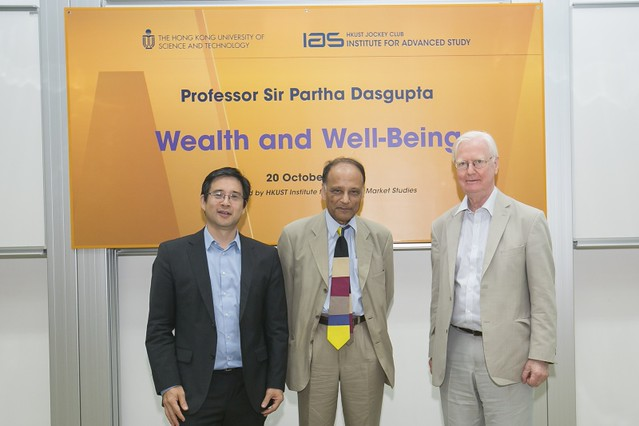 Wealth and Well-Being – IAS Distinguished Lecture by Partha Dasgupta