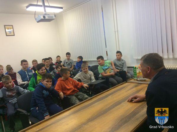 Gradonačelnik primio igrače Rukometnog kluba Vrbovsko