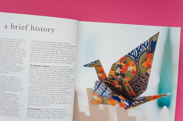 a brief history of origami