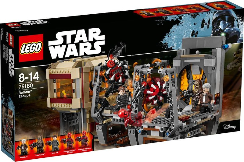 LEGO Star Wars Estate 2017 - Rathtar Escape (75180)