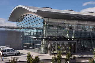 Entrada de la terminal de pasajeros. Foto: Puerto de Bilbao.