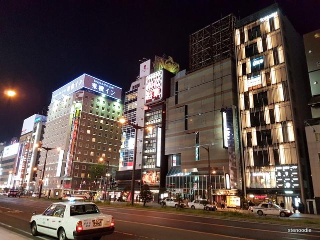 Hotel Mercure Sapporo street view