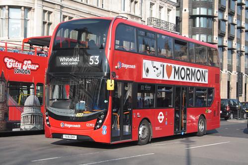 Stagecoach London 12392 YX16OHH