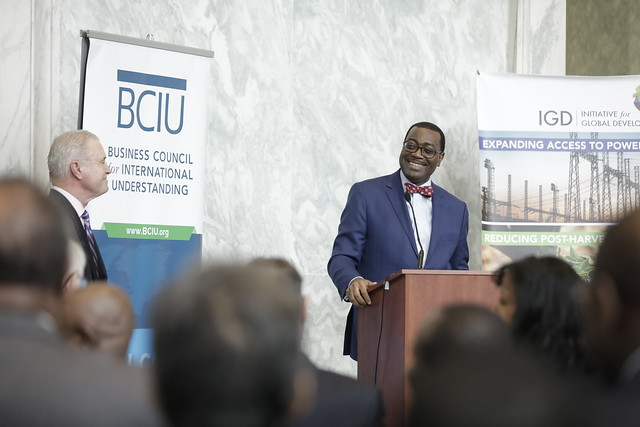 Reception for the AfDB' President Mr. Akinwumi Adesina at the Capitol Hill in Washington D.C. on April 20, 2017.