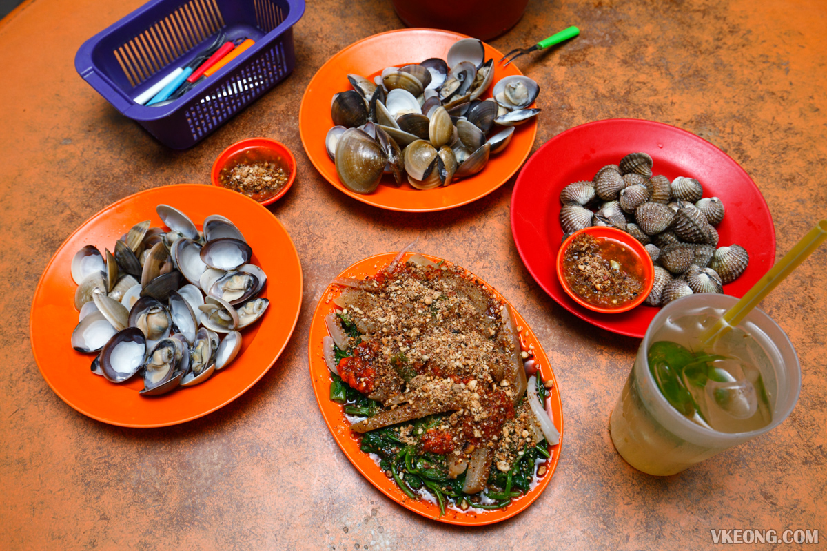 Boiled Seafood with Chili Sauce Melaka