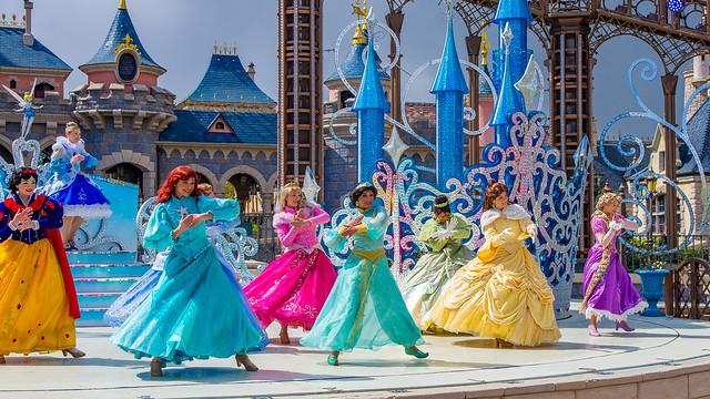 Disneyland Paris - Starlit Princess Waltz show I, 20170426