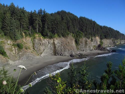 Cove just south of Arch Rock Picnic Area, Samuel H. Boardman State Scenic Corridor, Oregon