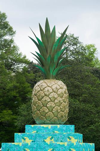 Tutti Frutti Pineapple Installation As Part Of Kew
