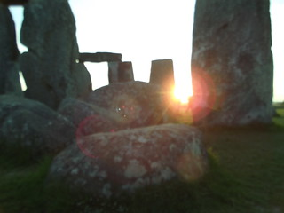 Stonehenge Midsummer Sunset
