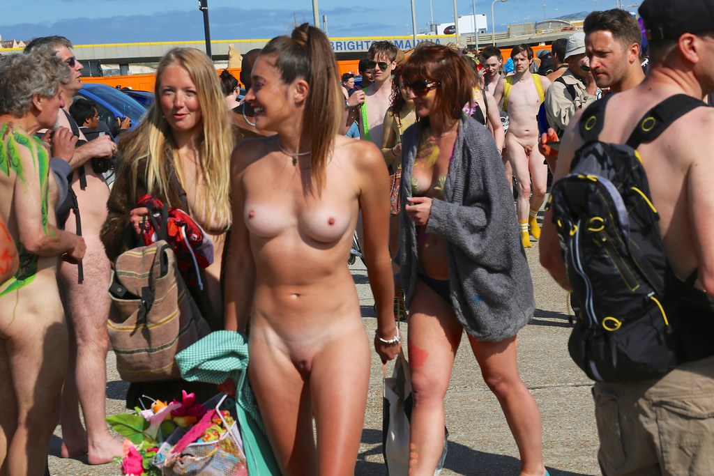 World Naked Bike Ride Bushy Pussy Pictures 87