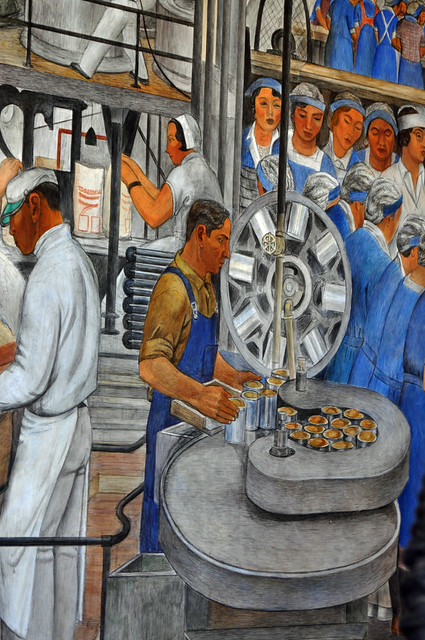 Coit tower murals 08 explore larry miller 39 s photos on for Coit tower mural
