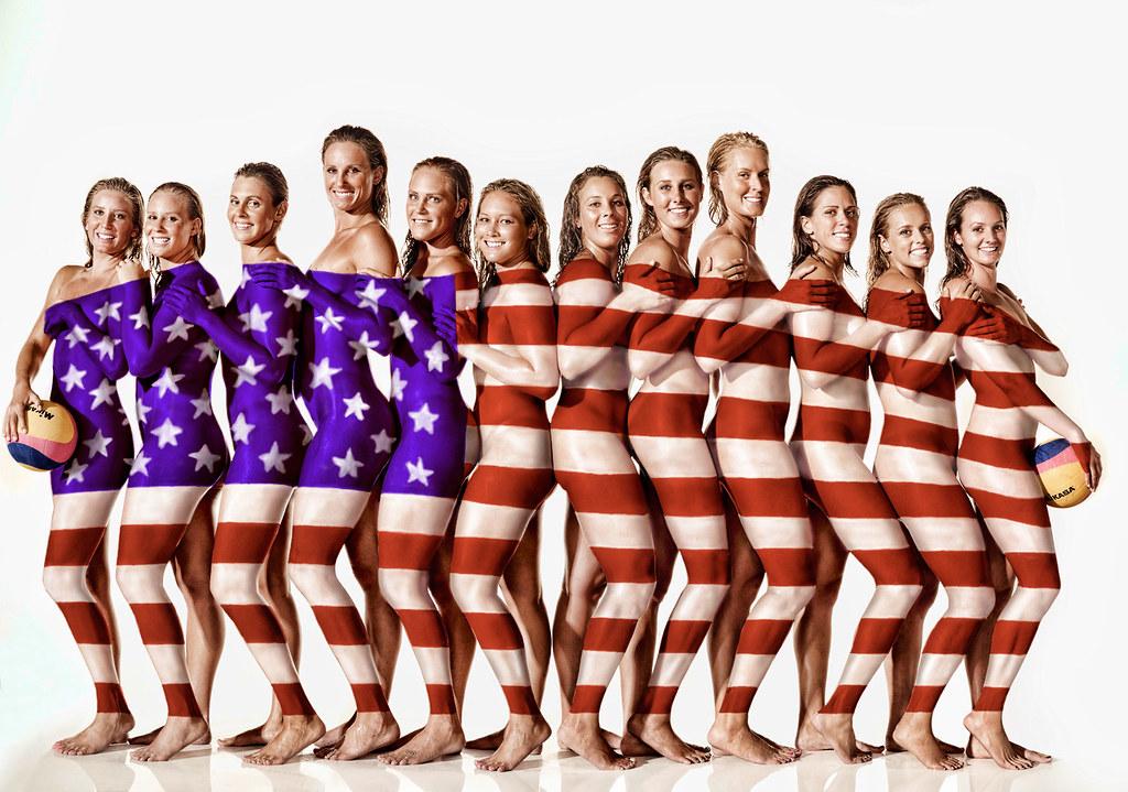 water team Usa polo