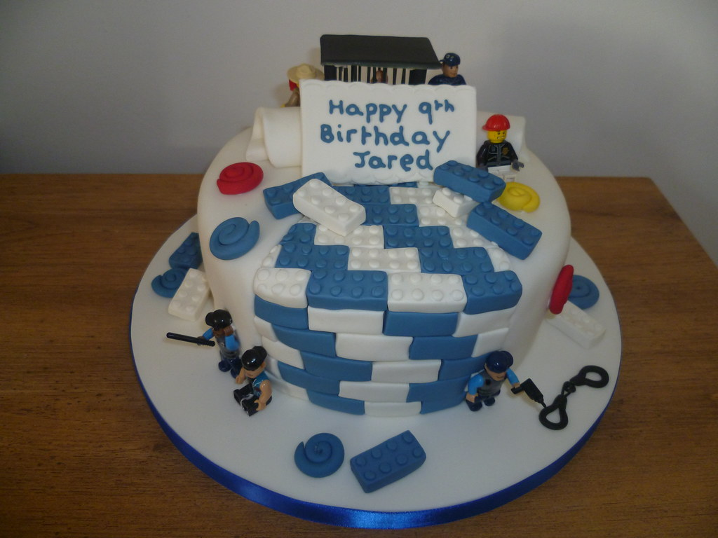 Lego Police Cake Natalie Webster Flickr