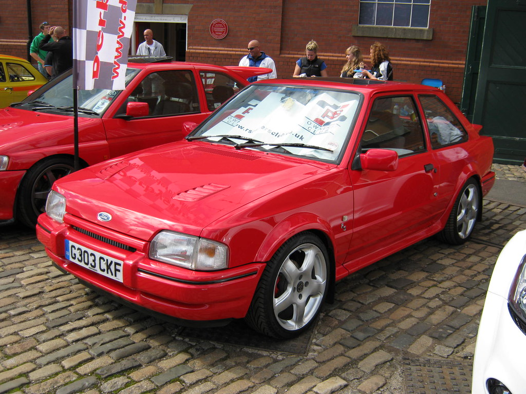 1989 Ford Escort Mk4 Rs Turbo 1597cc G303ckf