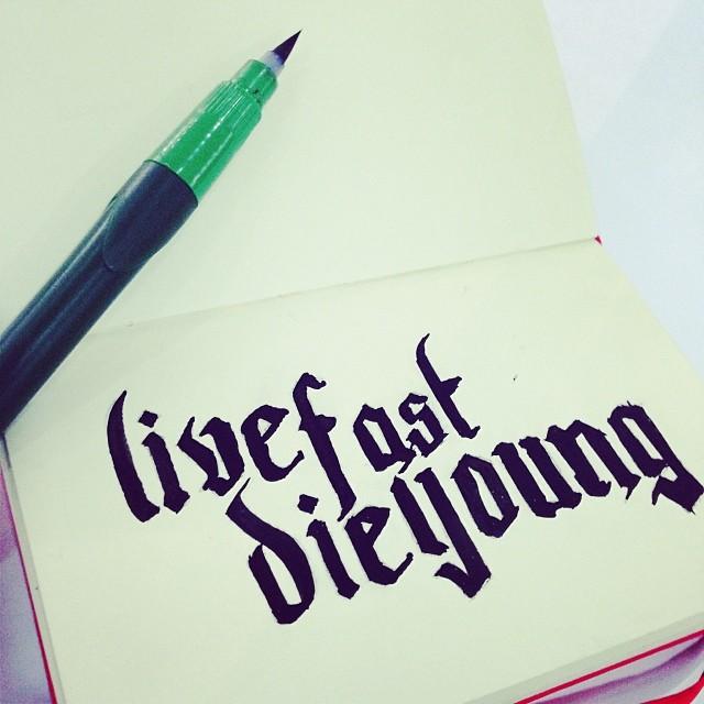 Unique Live fast, die young #art #artist #design #dumi #illustrat… | Flickr XY41