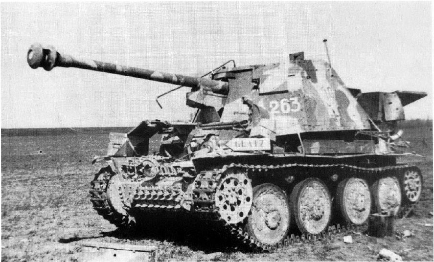 Marder Iii Ausf H Hungary March 1945 Krueger Horst