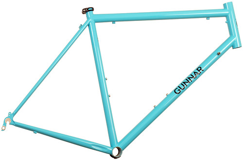 Gunnar Sport in Turquoise with Black Bullseye Decals | by Gunnar Cycles