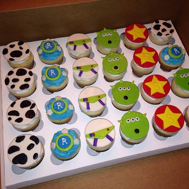Toy Story Baby Shower Cupcakes Disney Pixar Toystory B Flickr