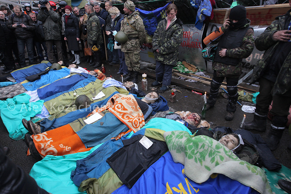 Image result for protesters in ukraine snipers