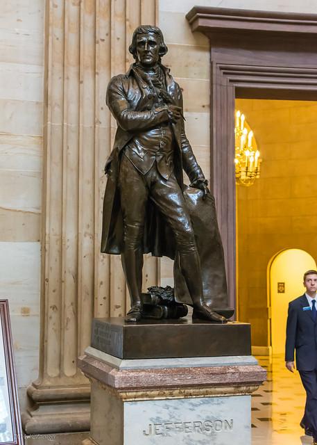 Jefferson Statue @ the Capitol