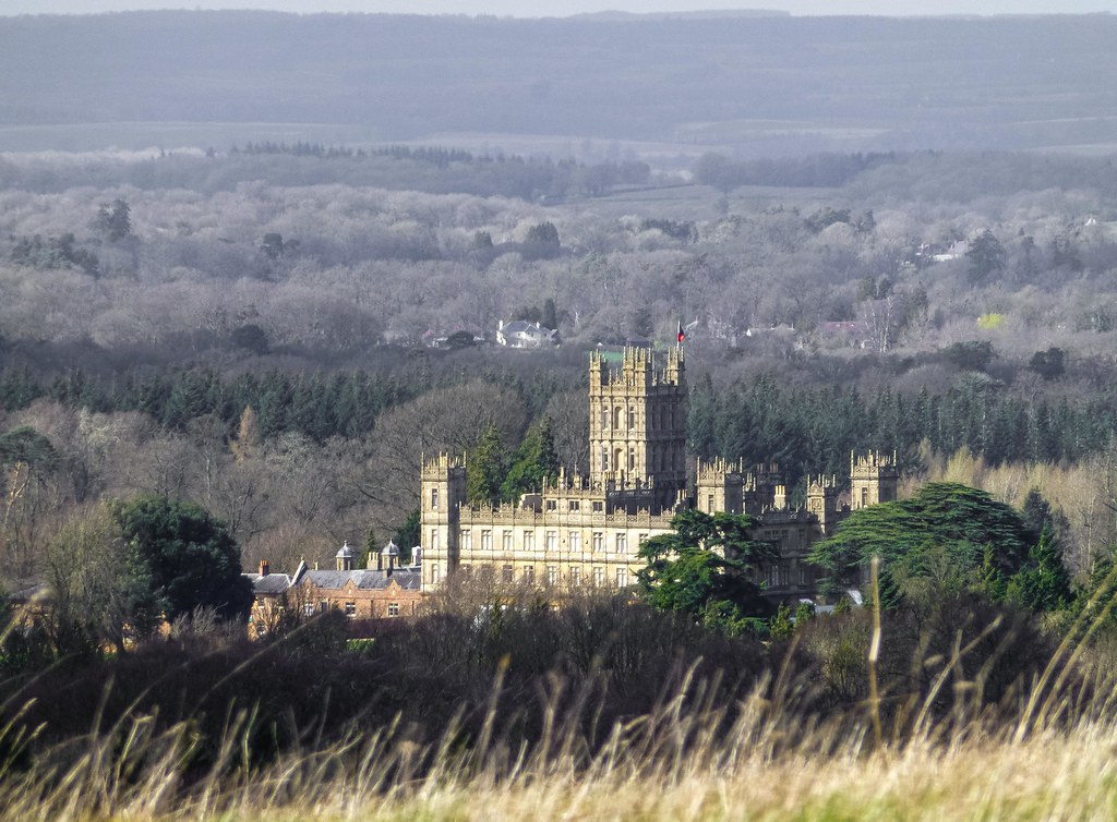 Highclere Castle: The Real Downton Abbey. near Newbury Ber ...